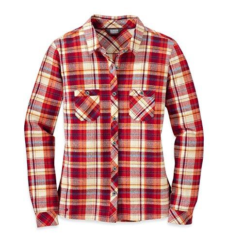 Outdoor Research Women's Ceres L/S Shirt, Sangria, Medium