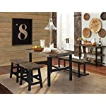 Sonoma Reclaimed Wood and Metal Dining Table, Natural