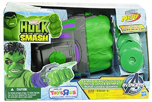 Marvel Hulk and the Agents of S.M.A.S.H. Gamma Blastin' Glove (Hulk And The Agents Of Smash Games)