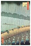 Sudden Shower Over Ohashi Bridge and Atake Poster Poster Print by Ando Hiroshige, 24x36