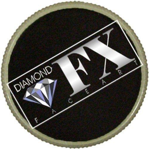 Diamond FX Essential Face Paint - Black (30 gm) -