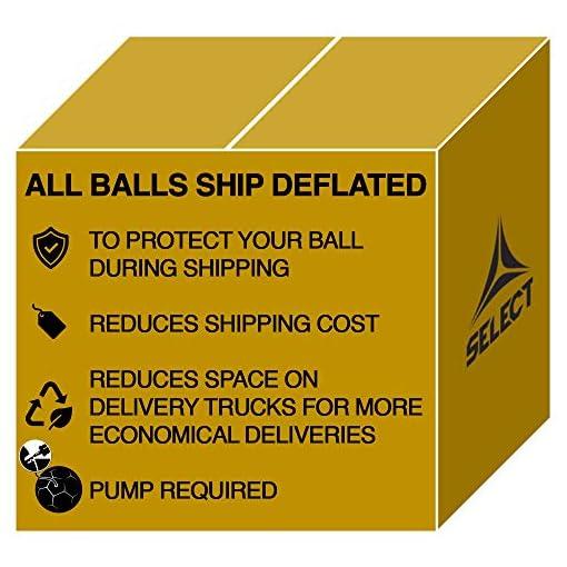 all soccer balls ship deflated