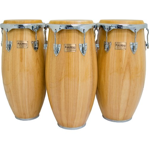 Tycoon Percussion 11 Inch Concerto Series Natural Quinto With Single Stand by Tycoon Percussion