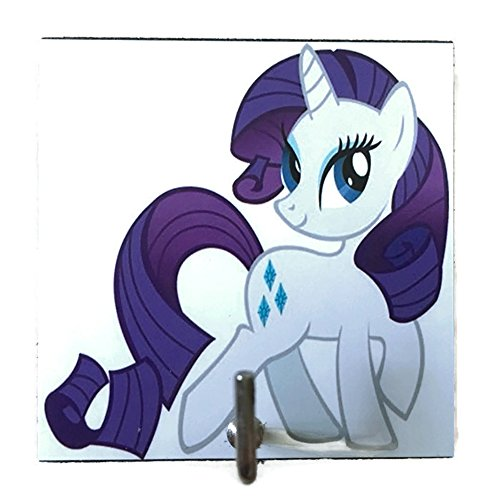 Agility Bathroom Wall Hanger Hat Bag Key Adhesive Wood Hook Vintage My Little Pony Rarity's Photo (Adult Simple Halloween Costumes)