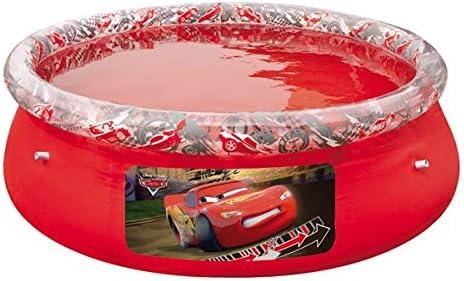 Bestway 91026 - Piscina Desmontable Autoportante Infantil Cars 244x66 cm