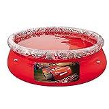 Disney Bestway Cars Fast Set Above Ground Pool - Red