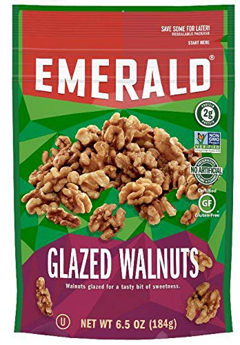 Emerald Glazed Walnut, 6.5 Ounce -- 6 per case.