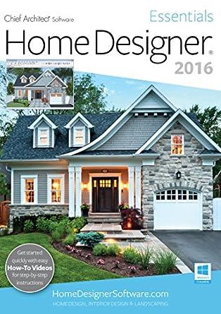 Amazon.Com: Home Designer Essentials 2016 [Pc]: Software