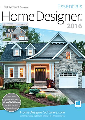 Home Designer Essentials 2016 [PC] by Chief Architect