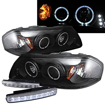 Amazon.com: 2000-2005 Chevy Impala Dual Halo Projector ... on