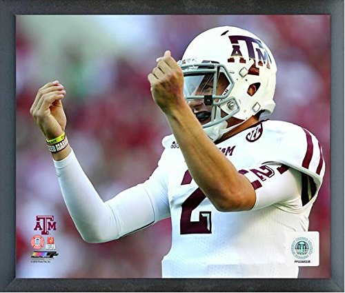 Johnny Manziel Texas A&M Aggies 2012 Action Photo (Size: 17
