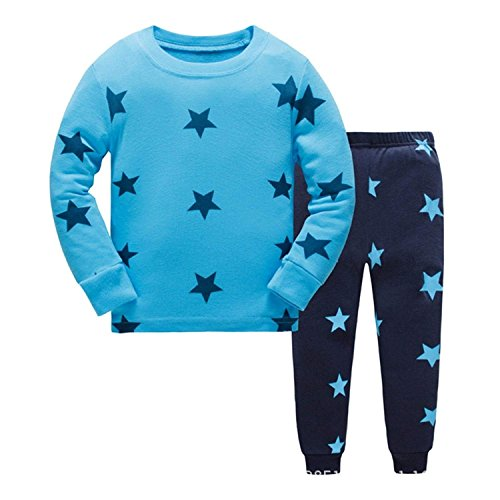 Qzrnly Toddler Kids Pajamas Sets Pjs Dinosaur 100% Cotton Sleepwears Easter Clothes ()
