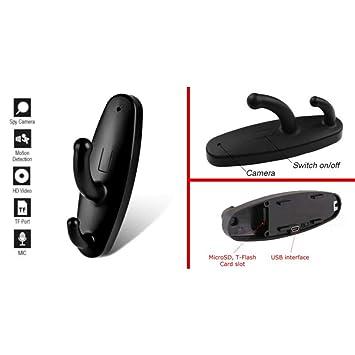 tradeshoptraesio® - Perchero colgador ropa espía cámara Micro Camera Cámara Spy Hook Spycam: Amazon.es: Electrónica