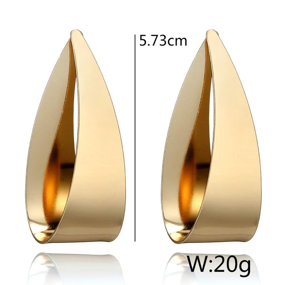 gold KUUCOL Dangle Earrings Big Hoop Earrings for Women Girls Gift