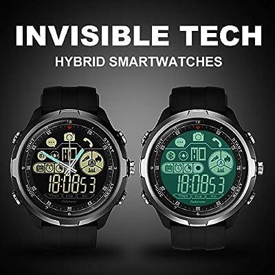 Amazon.com: Smartwatch IP67/50M Water Resistant ZEBLAZE Vibe ...