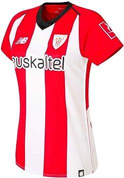 New Balance AC Bilbao Primera Equipación 2018-2019 Mujer, Camiseta ...