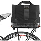 Ibera 2 in 1 Bike PakRak Insulated Cooler Trunk Bag, Bicycle Shopping Bag for Grocery, Hand/ Shoulder Bag