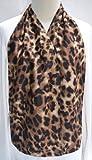 DinerWear Adult Bib Dining Scarf - Cravaat - (Leopard)