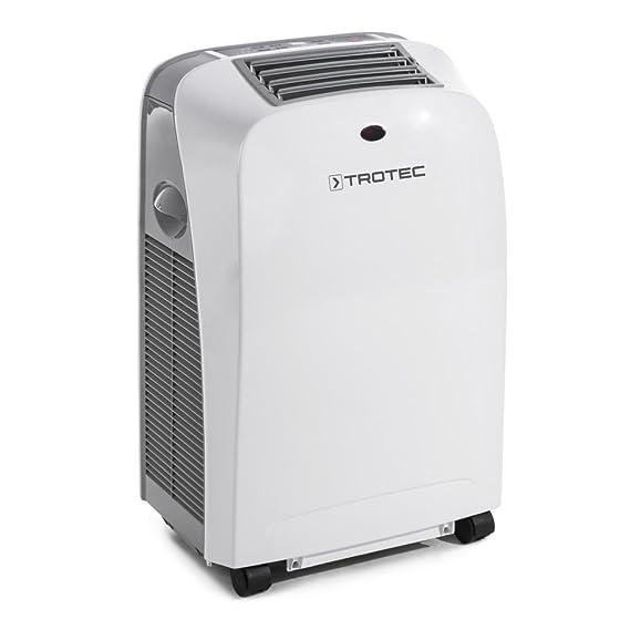 TROTEC PAC 2000 SH - Acondicionador de aire local, Dispositivo compacto 4-en-1,  2 kW, 2 velocidades, Blanco