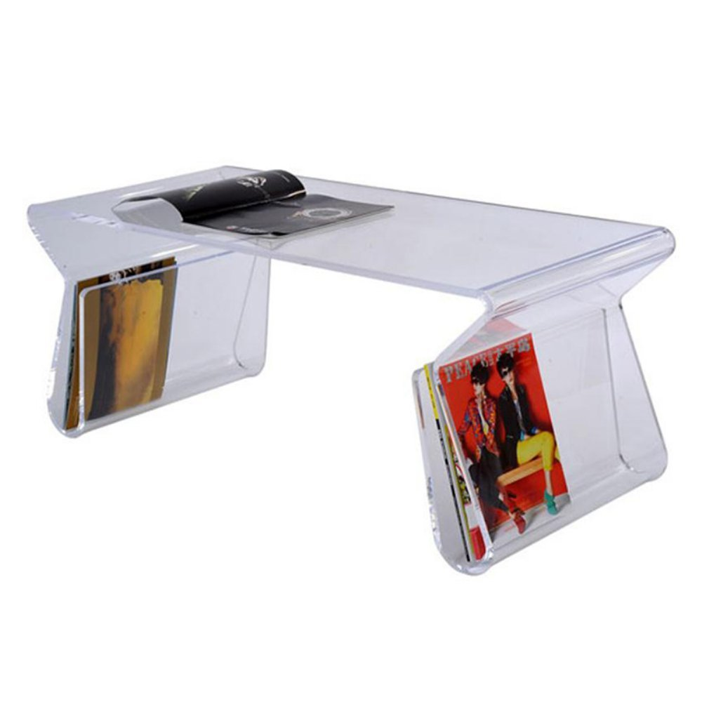 Modern Acrylic Coffee Table: Kitchen U0026 Dining