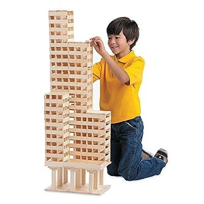 KEVA Maple 400 Plank Set: Toys & Games
