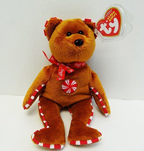 (TY Beanie Baby - PEPPERMINT the Bear (Hallmark Gold Crown Exclusive))