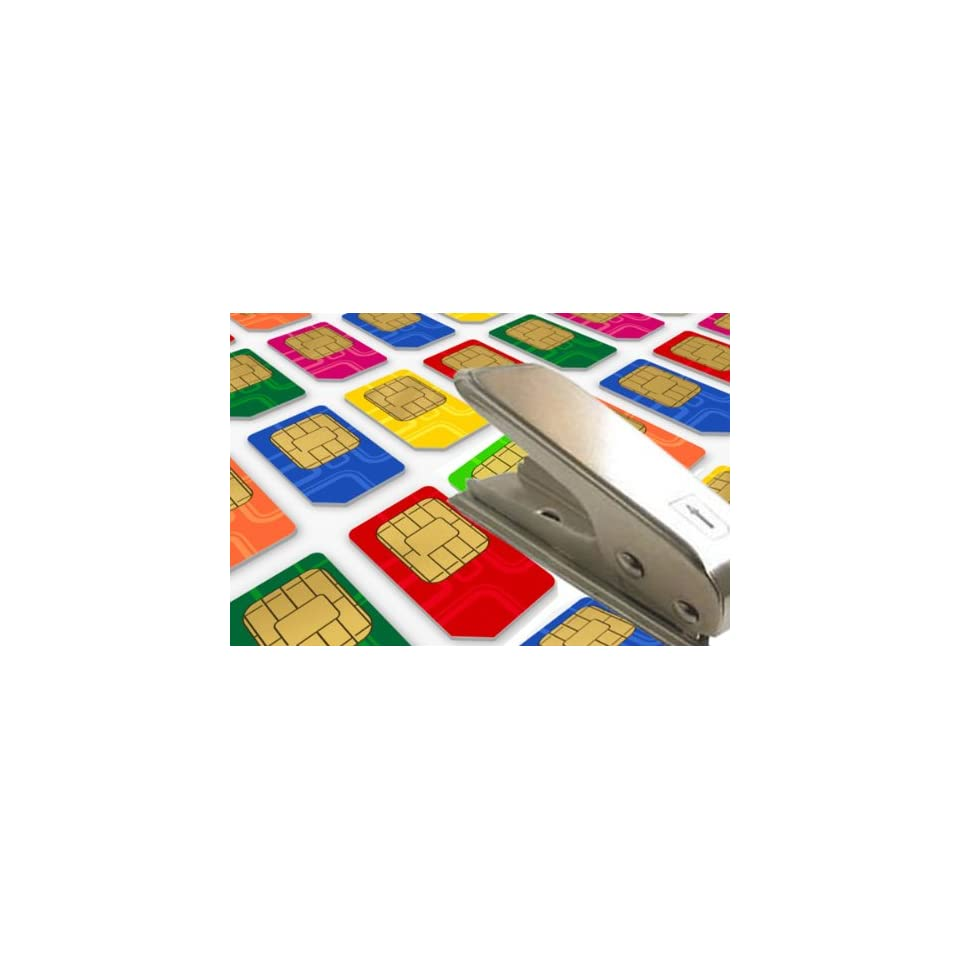 TsirTech Micro Sim Card Adapter With Two Adapters + Your Choice of FREE Colored Adapter