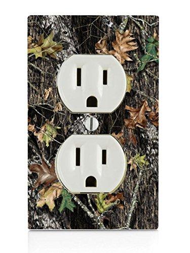 Mossy Oak Pattern Camo Electrical Outlet - Outlets Oaks