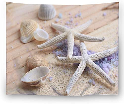 LK S SHOP Starfish Ocean Wall Tapestry Hippie Art Tapestry Wall Hanging Home Decor for Bedroom Living Room Dorm Room 60×80 inches 1