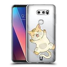 Head Case Designs Cat Trapped Inside Soft Gel Case for LG V10