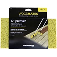 Mr. Long Arm 0355 Woodmates 12-Inch Premier Stain Applicator Replacement Pad by Mr. Long Arm
