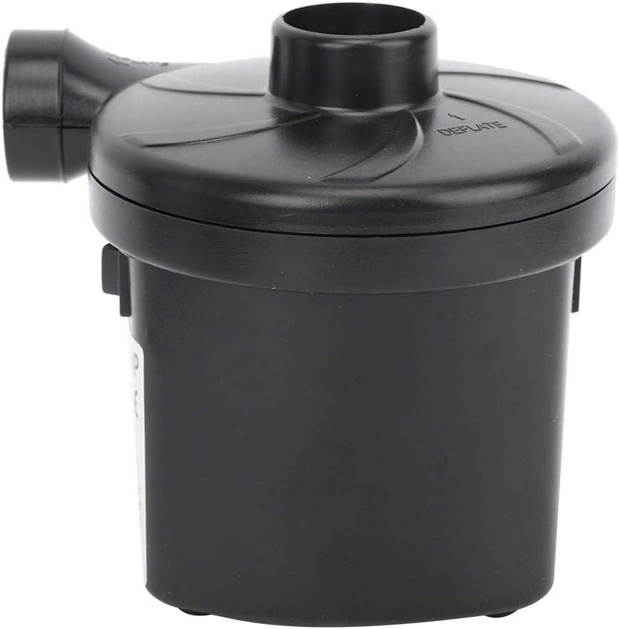 Keenso Pompa Gonfiabile AC//DC Pompa di gonfiaggio,Accessorio per attivit/à allaperto Campeggio Pompa ad Aria elettrica,180 V-240 V Portatile