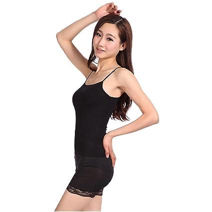 Tirantes delgados damas de alta elasticidad camisetas,Ba Zha Hei ¡Oye! blusas de