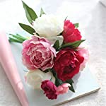 Miracliy-Artificial-Peony-flower-Silk-6-heads-Flower-Bouquet-For-Home-Wedding-Decoration-Rose-Red