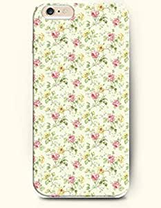 OOFIT Apple iPhone 6 Case 4.7 Inches - Vintage Pink Rose and Yellowe Rose
