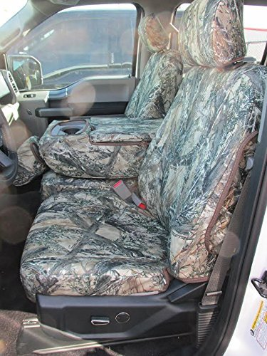 Durafit Seat Covers, FD81 Seat Covers Made in MC2 Camo Endura for 2015-2018 Ford F150 2016-2018 F250-F550 Front and Rear...