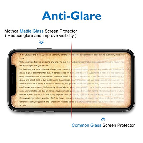 new style ba813 91004 Mothca Matte Screen Protector Compatible with iPhone Xs/iPhone ...