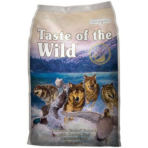 Taste of the Wild, Wetlands Canine Formula with Roasted Fowl
