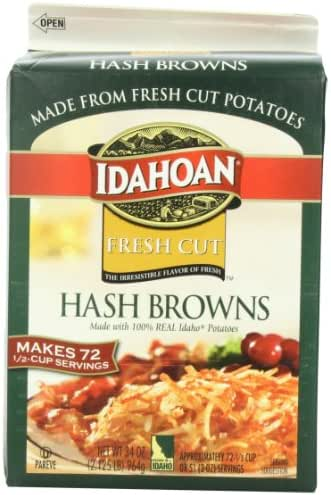 Potatoes & Stuffing: Idahoan Fresh Cut Hash Browns
