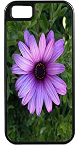 Case For Iphone 5C Cover Customized Gifts Cover purple Leaves FloweIdeal Gift
