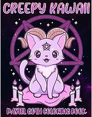 Creepy Kawaii Coloring Book: Pastel Goth Coloring Book For Adult, Horror Coloring Book, Adult Coloring Book, Halloween Coloring Book