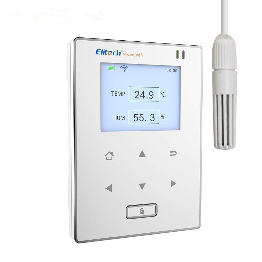 Registrador de Datos de Humedad y Temperatura WiFi Elitech RCW-800 WIFI