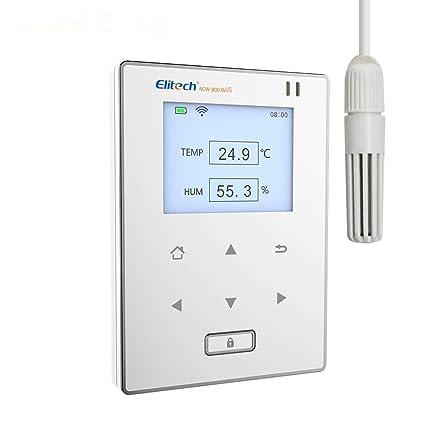Temperatura y Humedad Registrador de datos Monitor remoto inalámbrico wifi Temperatura y Humedad Registrador de temperatura