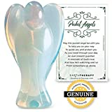 Earth Therapy Pocket Guardian Angel with Serenity Prayer Card -...