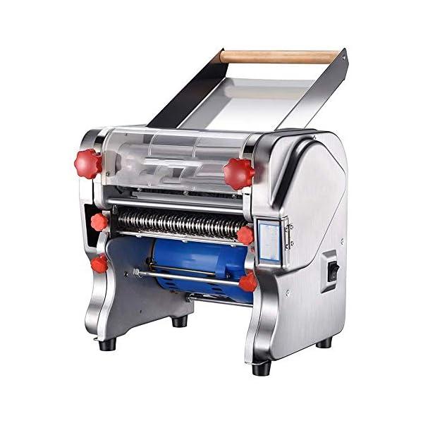 COOLSHOPY. Pasta Pasta Macchina 550W in Acciaio Inox Commerciale Elettrico Roller tagliatella Taglio Macchina Manuale…