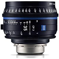 Zeiss CP.3 35mm T2.1 Compact Prime Cine Lens (Feet) with Canon EF Mount