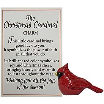 Amazon Set Of 2 Christmas Red Cardinal Bird Figurines With