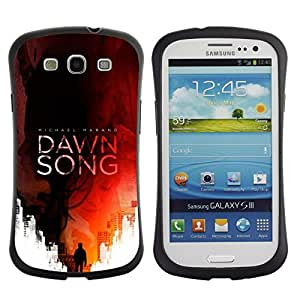 Paccase / Suave TPU GEL Caso Carcasa de Protección Funda para - Song Book Cover Red Man Reading - Samsung Galaxy S3 I9300