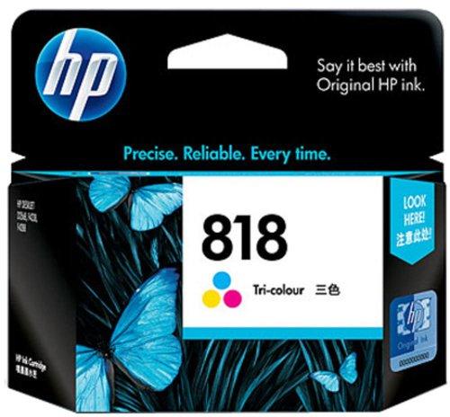HP 818 Ink Cartridge   Tri Color