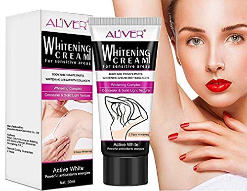 Whitening Cream Natural Underarm Lightening & Brightening Deodorant Cream Armpit Whitening Body Creams Underarm Repair Between Legs Knees Private Part 100 ml